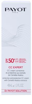 Payot Dr. Payot Solution schützende und regenerierende CC Creme SPF 50+ 2