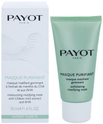 Payot Expert Pureté máscara facial de limpeza esfoliante para pele mista e oleosa 1