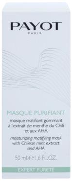 Payot Expert Pureté mascarilla facial exfoliante limpiadora  para pieles mixtas y grasas 2