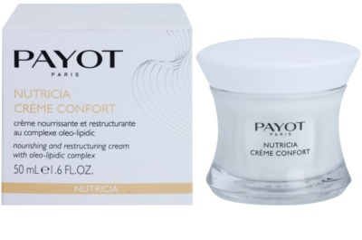 Payot Nutricia nährende Restrukturierungscreme 2