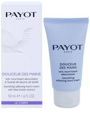 Payot Le Corps Creme für zarte Hände und Fingernägel 1