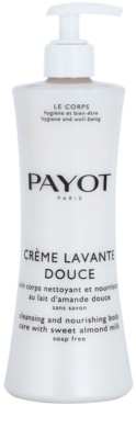 Payot Le Corps gel de banho nutritivo para rosto, corpo e cabelo