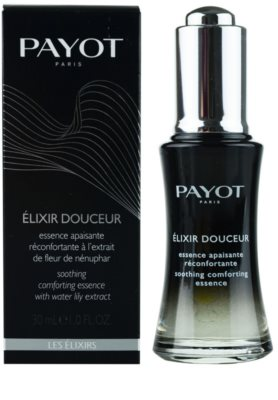 Payot Les Elixirs nyugtató esszencia az érzékeny arcbőrre 1