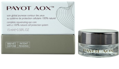 Payot AOX komplexe verjüngende Pflege für die Augenpartien 1
