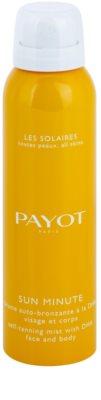 Payot Sun Minute spray autobronzeador para rosto e corpo