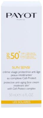 Payot Sun Sensi ochranný krém na obličej proti stárnutí pro intolerantní pleť SPF 50+ 2