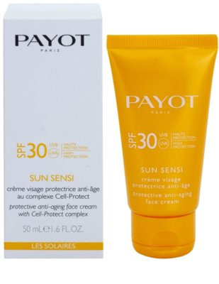 Payot Sun Sensi crema protectoare impotriva imbatranirii pielii SPF 30 1