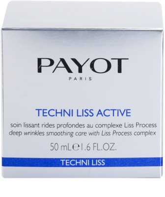 Payot Techni Liss Active verfeinernde Crem gegen Falten 4