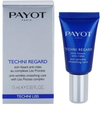 Payot Techni Liss oční krém pro okamžité rozjasnění 1