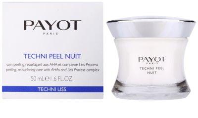 Payot Techni Liss crema pentru exfoliere pentru definirea pielii 1