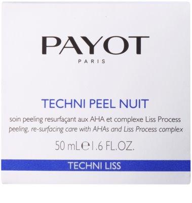 Payot Techni Liss crema pentru exfoliere pentru definirea pielii 2
