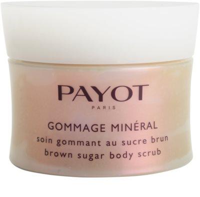 Payot Vitalité Minérale tělový peeling s cukrem pro všechny typy pokožky