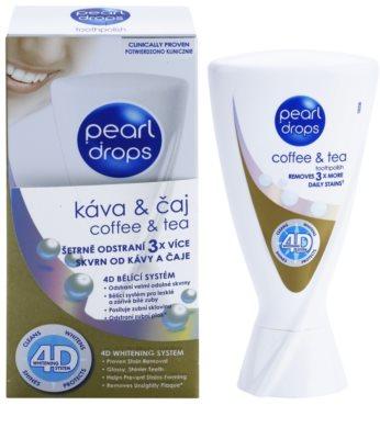 Pearl Drops Coffee & Tea pasta de dientes blanqueadora de manchas profundas 1