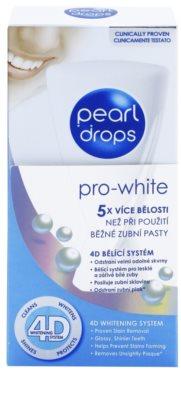 Pearl Drops Pro White dentífrico branqueador para dentes brancos radiantes 2