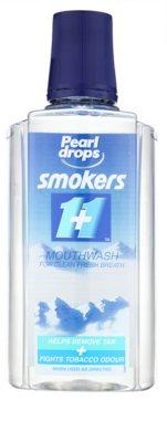 Pearl Drops Smokers enjuague bucal para aliento fresco