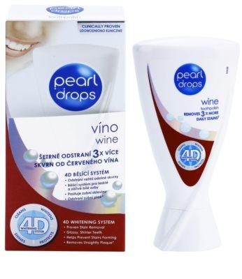 Pearl Drops Wine відбілююча зубна паста проти темних плям 1