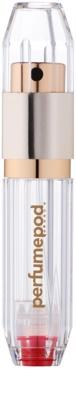 Perfumepod Crystal vaporizador de perfume recargable unisex   (Gold)