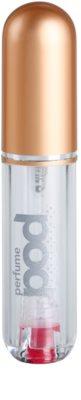 Perfumepod Pure szórófejes parfüm utántöltő palack unisex   (Gold) 1