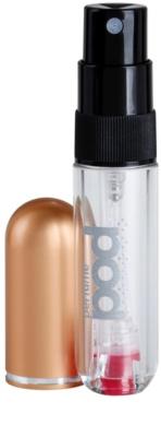 Perfumepod Pure szórófejes parfüm utántöltő palack unisex   (Gold) 2