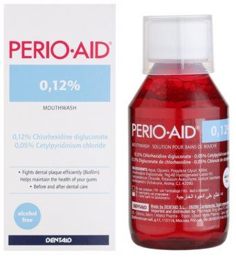 Perio•Aid 0,12% ústní voda pro zklidnění dásní při zánětlivých projevech a parodontóze 1