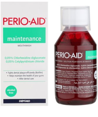 Perio•Aid Maintenance ústní voda pro zachování zdravých dásní po léčbě parodontózy 1