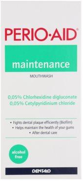 Perio•Aid Maintenance ústní voda pro zachování zdravých dásní po léčbě parodontózy 2