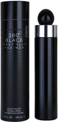 Perry Ellis 360° Black Eau de Toilette pentru barbati