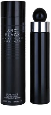 Perry Ellis 360° Black toaletná voda pre mužov