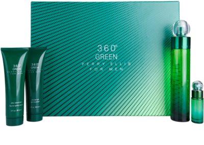 Perry Ellis 360° Green coffret presente
