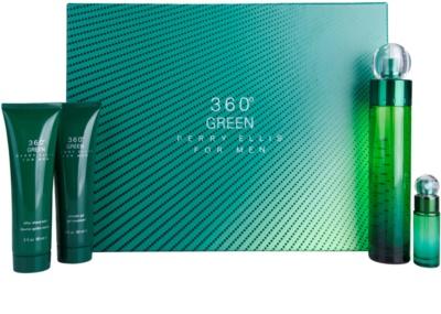 Perry Ellis 360° Green lote de regalo