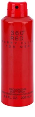 Perry Ellis 360° Red telový sprej pre mužov