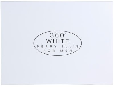 Perry Ellis 360° White lote de regalo 3