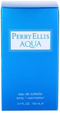 Perry Ellis Aqua Eau de Toilette pentru barbati 4