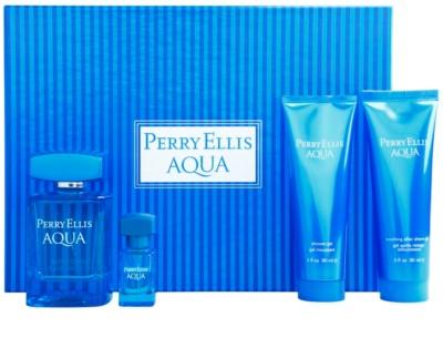 Perry Ellis Aqua darilni seti