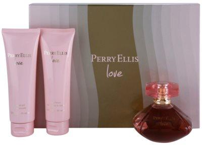 Perry Ellis Love dárková sada