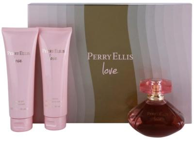 Perry Ellis Love Geschenkset