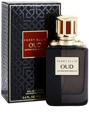 Perry Ellis Oud Saffron Rose Absolute Eau de Parfum unissexo 1