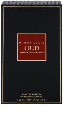 Perry Ellis Oud Saffron Rose Absolute Eau de Parfum unissexo 4