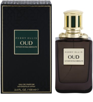 Perry Ellis Oud Vetiver Royale Absolute Eau de Parfum unissexo