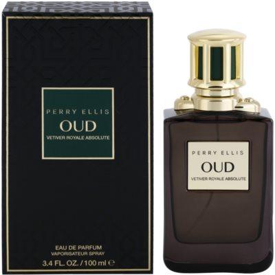 Perry Ellis Oud Vetiver Royale Absolute woda perfumowana unisex