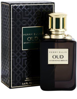 Perry Ellis Oud Vetiver Royale Absolute Eau de Parfum unissexo 1