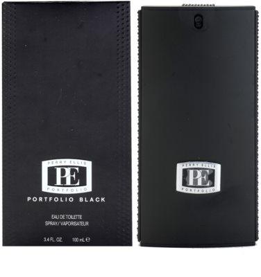 Perry Ellis Portfolio Black Eau de Toilette pentru barbati