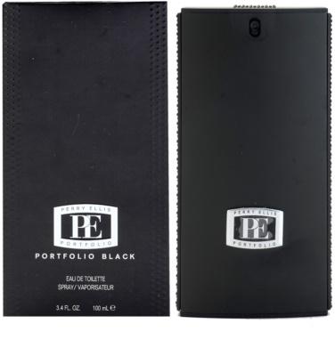 Perry Ellis Portfolio Black toaletní voda pro muže