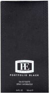 Perry Ellis Portfolio Black Eau de Toilette pentru barbati 3