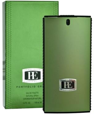 Perry Ellis Portfolio Green Men Eau de Toilette para homens