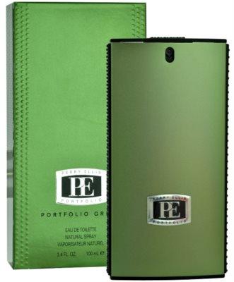 Perry Ellis Portfolio Green Men Eau de Toilette pentru barbati