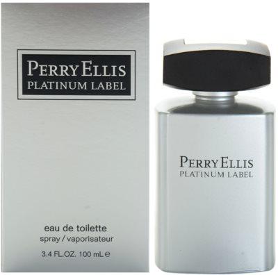 Perry Ellis Platinum Label eau de toilette para hombre