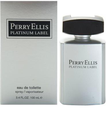 Perry Ellis Platinum Label Eau de Toilette para homens