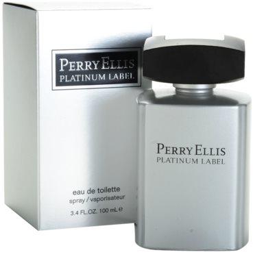 Perry Ellis Platinum Label toaletna voda za moške 1