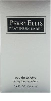 Perry Ellis Platinum Label Eau de Toilette para homens 4